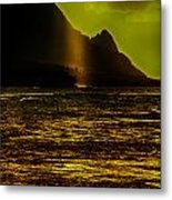 North Shore Kauai Metal Print