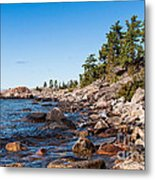 North Shore Of Lake Superior Metal Print