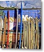 North Shore Surf Shop Metal Print