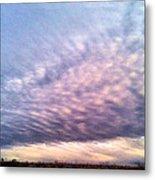North Texas Sky Metal Print