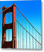 North Tower Golden Gate Metal Print