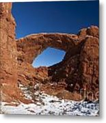 North Window Arches National Park Utah Metal Print