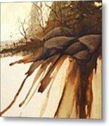 North Woods Pines Metal Print by Rick Huotari