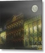 Northampton By Moonlight Metal Print