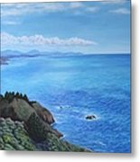 Northern California Coastline Metal Print