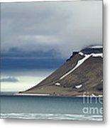 Northern Island In Svalbard Metal Print