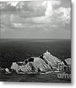 Northern Lighthouse Metal Print