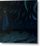 Northern Lights Tobermory Metal Print