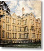 Northern Michigan Asylum Metal Print