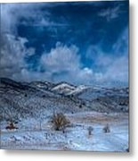 Northern View From Horsetooth Reservoir Metal Print by Harry Strharsky