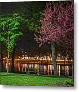 Northfield At Night Metal Print