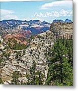 Northgate Peaks Trail From Kolob Terrace Road In Zion National Park-utah Metal Print
