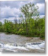 Northrup Road Waterfalls 2158 Metal Print