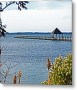 Northside Park Fishing Pier Metal Print
