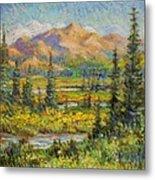Northwest In The Rockies Metal Print