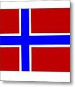 Norway Flag Metal Print