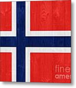 Norway Flag Metal Print