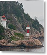 Norway Lighthouse 2 Metal Print