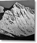 Norwegian Arctic Mountains Metal Print