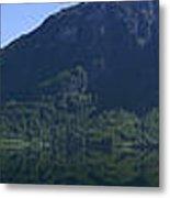 Norwegian Countryside Panorama Metal Print