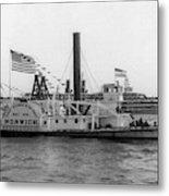Norwich Steamboat, C1909 Metal Print