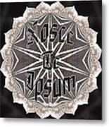 Nosce Te Ipsum Metal Print