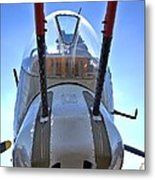 Nose Turret Metal Print