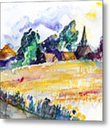 Nossentin From The West Metal Print
