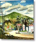 Nostalgia Arcadia Valley 1985  Metal Print
