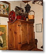 Nostalgic Corner In The Cellar Room At The Swiss Hotel In Sonoma California 5d24442 Metal Print by Wingsdomain Art and Photography