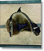 Not A Dolphin Metal Print