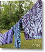 Not Fade Away - Spiral Dyes Metal Print