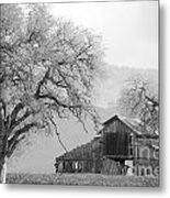 Not Much Time Left Bw Metal Print