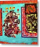 ...not On My Window..chiricagua Art.. Metal Print