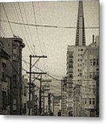 Not So Old San Francisco Metal Print