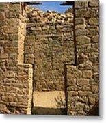 Notched Doorway Metal Print