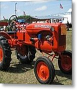 Nothing Like A Tractor Show Metal Print by Victoria Sheldon