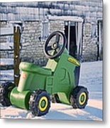 Nothing Runs Like A Deere #2 Metal Print