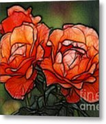Nothing Sweeter Than A Rose Metal Print