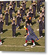 Notre Dame Band Metal Print by David Bearden