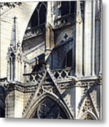 Notre Dame Cathedral Architectural Details Metal Print