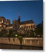 Notre Dame Cathedral  Metal Print