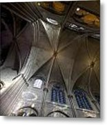 Notre Dame Ceiling South Metal Print
