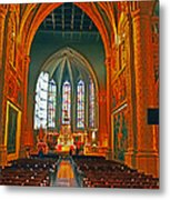 Notre Dame Of Luxembourg Metal Print