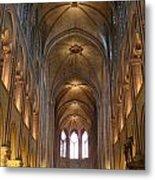 Notre Dame Paris France 3 Metal Print