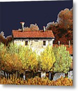 Notte In Campagna Metal Print