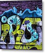 Nouveau Graffiti Metal Print