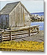 Nova Scotia Shack Metal Print