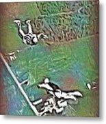 Nova Scotia Skydivers Metal Print