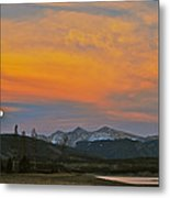 November Moonrise Metal Print by Bob Berwyn